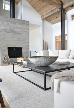 muebles de diseño echos con hormigón