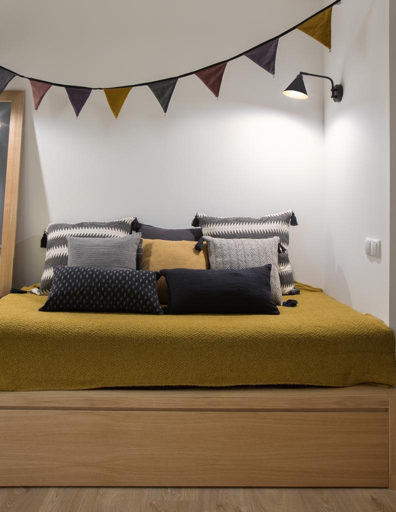 chill out -interiorisme-habitacion-sarria