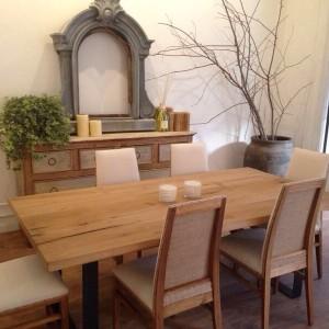 Hierro y madera - decoración casa
