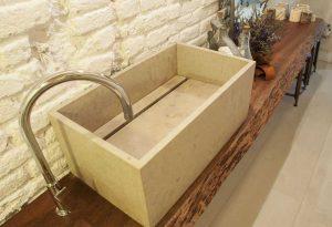 El lavabo rectangular que triunfa en Vive Estudio Barcelona