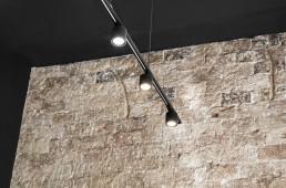 Iluminación decoración pared