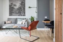 silla diseño cuero - Paulo Mendes da Rocha