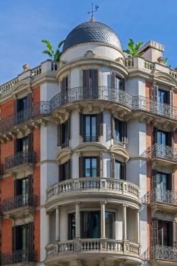 Palacio arquitectura pre-modernista Barcelona